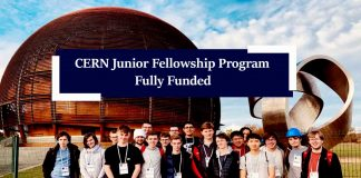 CERN Junior Fellowship Program