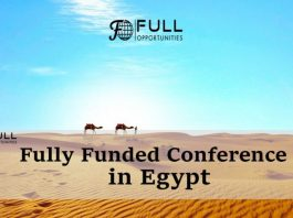 Fully Funded Conference in Egypt