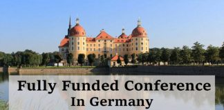 Fully Funded Conference in Germany