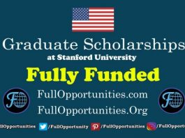 Graduate Scholarships at Stanford University