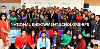 National Endowment Scholarships for Undergraduate