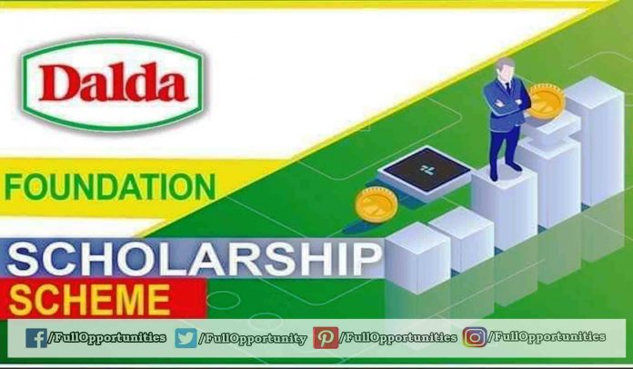 DALDA Scholarship 2019 -20 for 1st Year Students