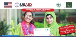 USAID Need Based Scholarship HEC Scholarships