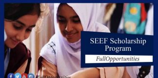 SEEF Scholarship Program for Students