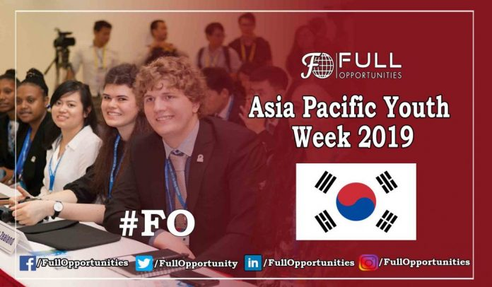 Asia Pacific Youth Week 2019