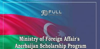 Ministry of Foreign Affair's Azerbaijan Scholarship Program