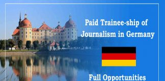Paid Trainee-ship of Journalism in Germany