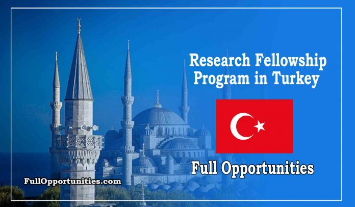 Research Fellowship Program in Turkey