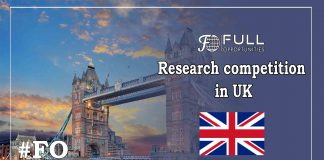 Research competition in UK 2019