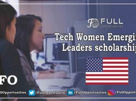 Tech Women Emerging Leaders scholarship