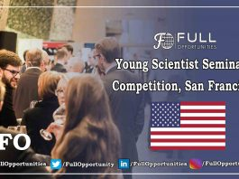 Young Scientist Seminars Competition, San Francisco