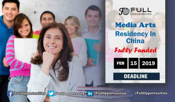 Fully Funded Media Arts Residency In China