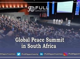 Global Peace Summit in South Africa