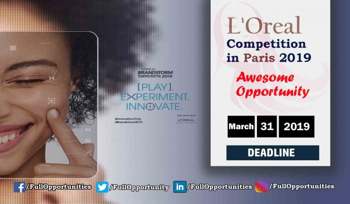 L'Oreal Competition in Paris 2019