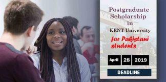 Postgraduate Scholarships in the University of Kent