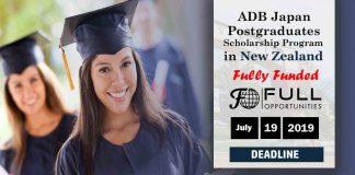 Asian Development Bank Japan Scholarship