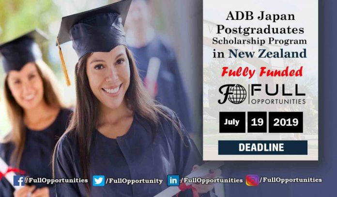 Asian Development Bank Japan Scholarship