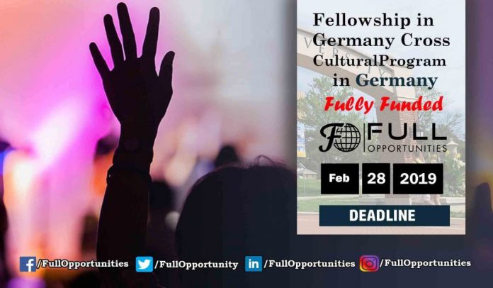 Fellowship in Germany – Cross Cultural Program