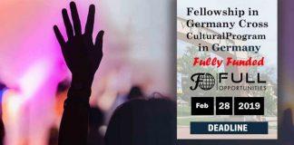 Fellowship in Germany – Cross Cultural Program