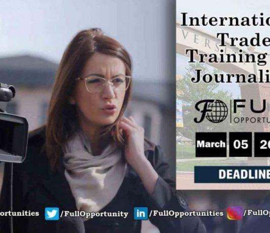 International Trade training for Journalists