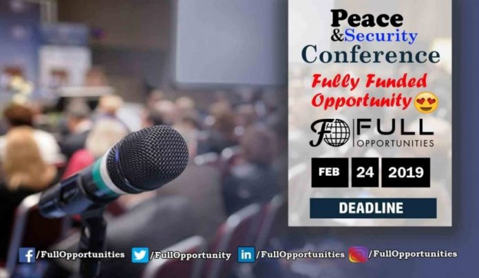 Peace and Security Conference in Malaysia