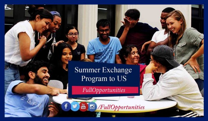 Summer Exchange Program in USA 2020 (Fully Funded)