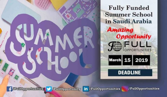 Summer School in Saudi Arabia