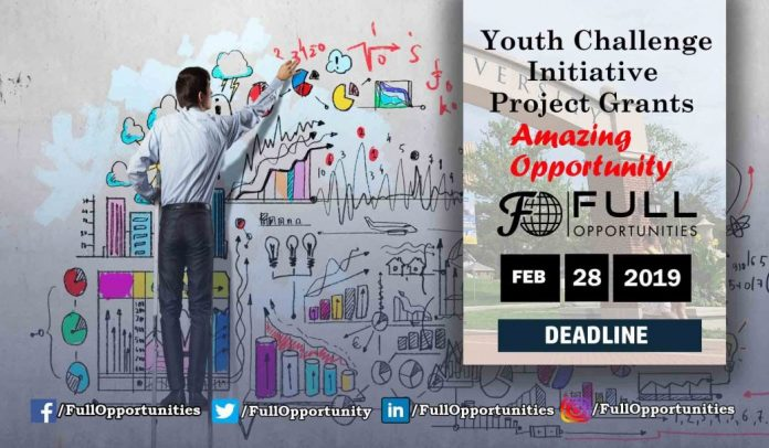 Youth Challenge Initiative Project Grants