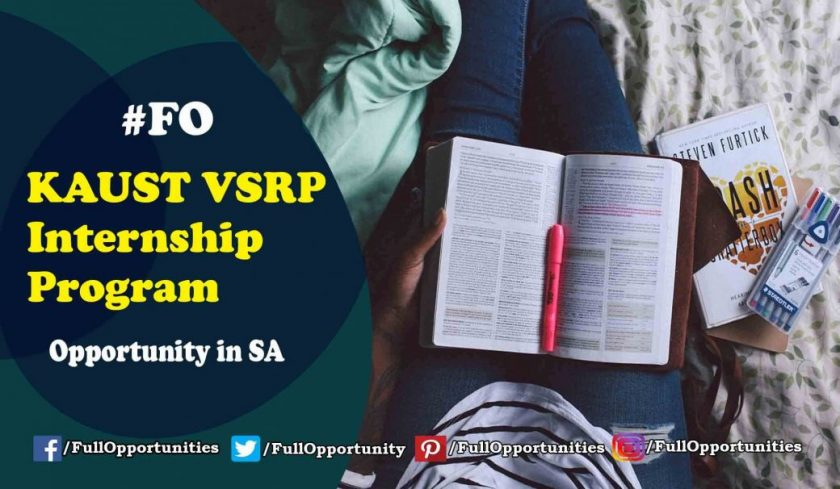 Opportunities in Saudi Arabia: KAUST VSRP Internship Program