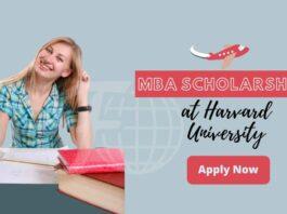 MBA Scholarship Program at Harvard University