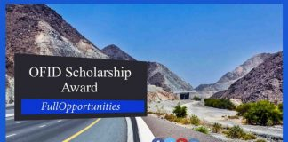 OFID Scholarship Award for Masters