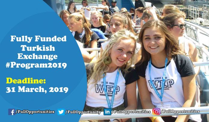 Turkish Exchange Program 2019