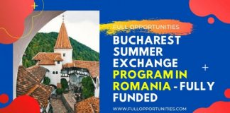 Bucharest Summer School in Romania 2020 (Fully Funded)