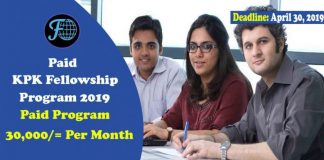Paid KPK Fellowship Program 2019