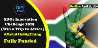 SDGs Innovation Challenge 2019 (Win a Trip to Africa)