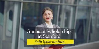 Graduate Scholarships at Stanford
