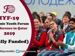 Islamic Youth Forum Conference in Qatar 2019