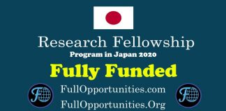 Research Fellowship Program in Japan