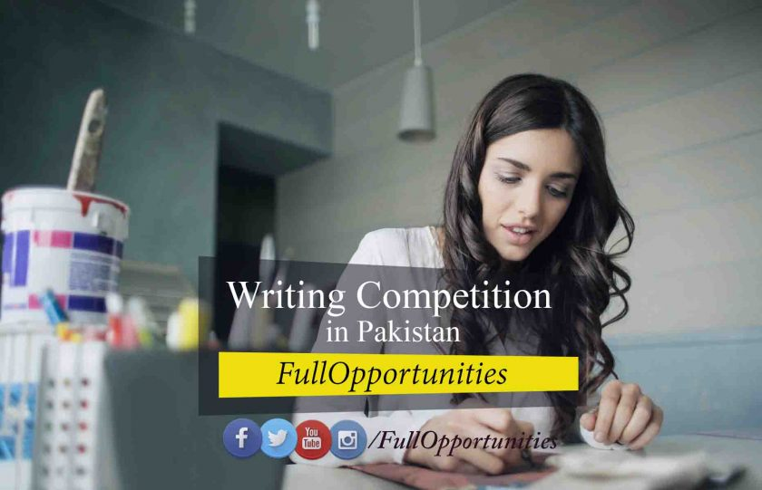Writing Competition in Pakistan