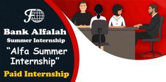 Bank Alfalah's Paid Internship