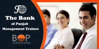 Bank of Punjab Management Trainee
