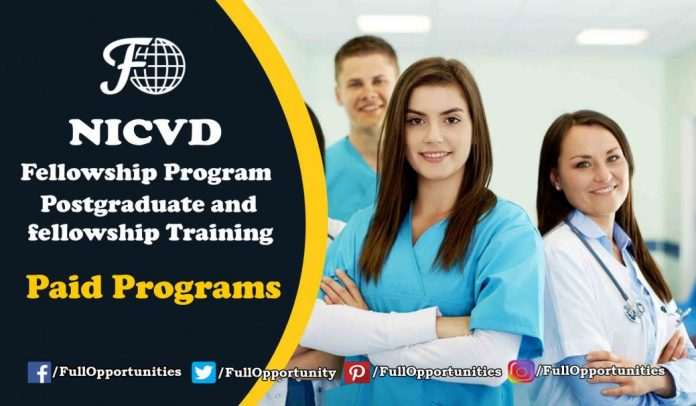 NICVD Fellowship Program 2019 - Paid Opportunity