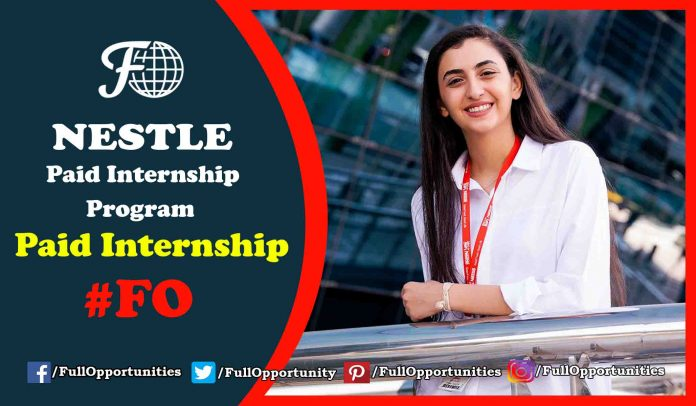 Nestle Internship program