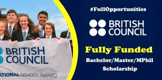 Pakistan Scottish Scholarship Program