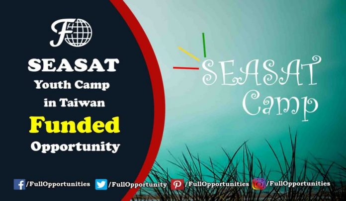 SEASAT Youth Camp in Taiwan 2019