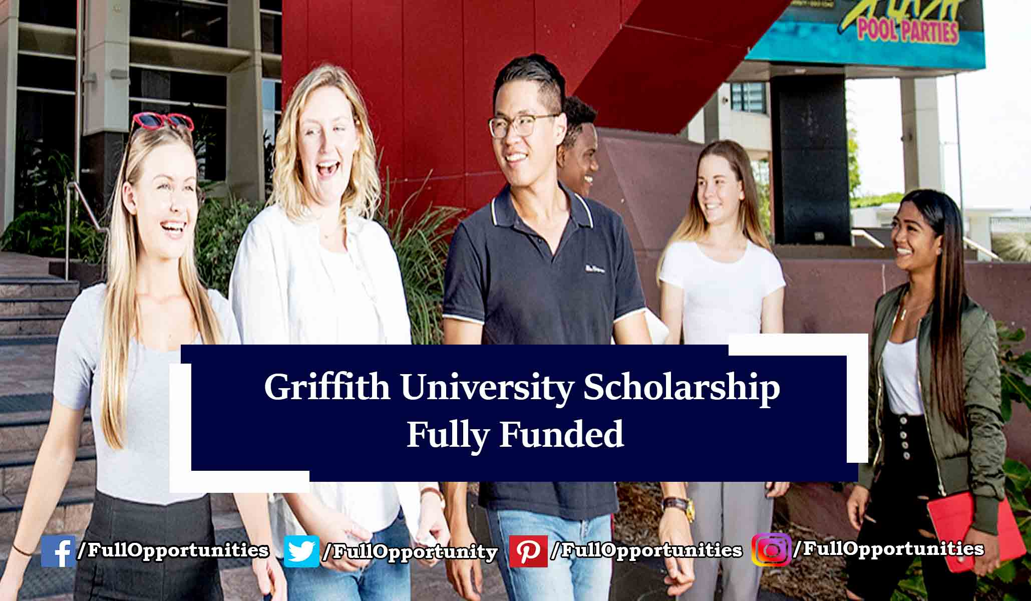 Griffith University Scholarship in Australia 2019-2020