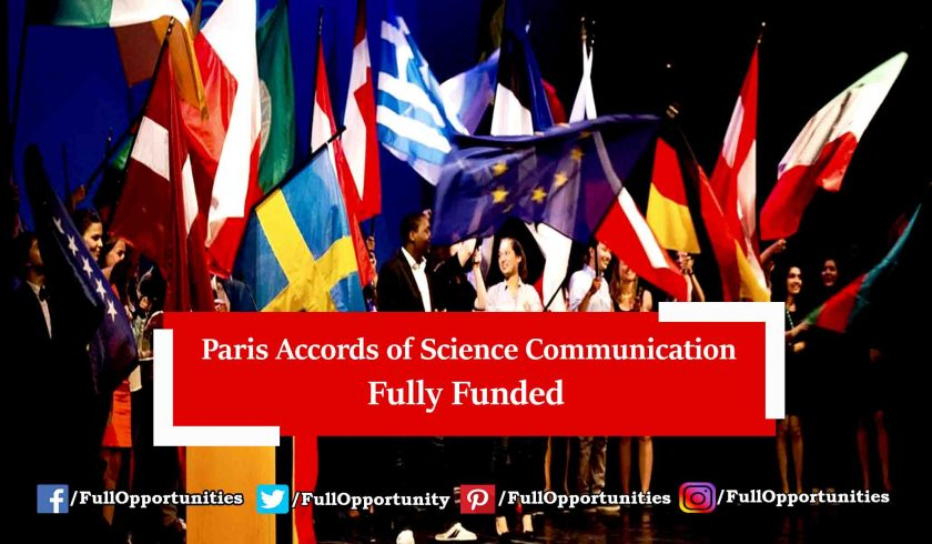 Paris Accords of Science Communication