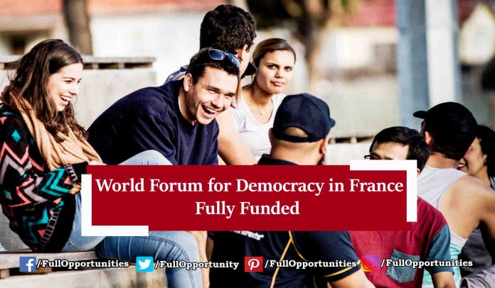 World Forum for Democracy in France