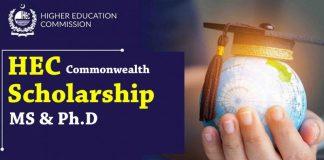 HEC Commonwealth Scholarship