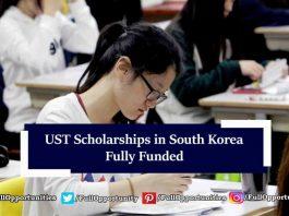 UST Scholarships in South Korea